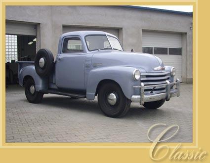 Chevrolet 3100 Pick Up Oldtimer Restauration In Polen